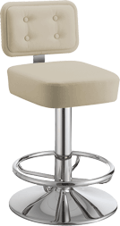 Ergonomic chairs Selena Gold for casino gaming tables