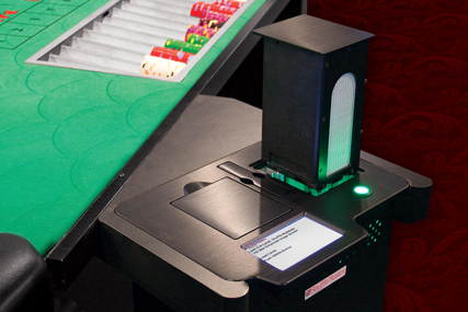 MD3 shuffle machine for casino security on baccarat