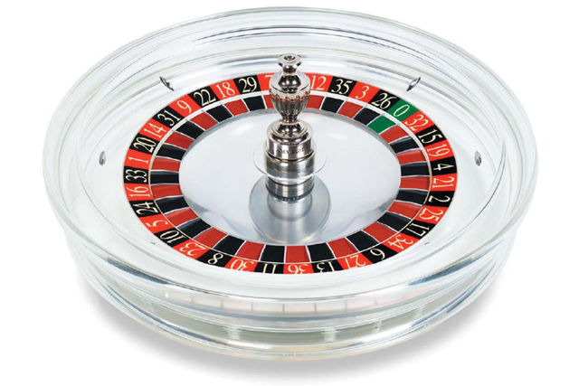 Cammegh Crystal transparent acrylic roulette wheel