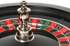 Cammegh Mercury 360 roulette wheel with descrete sensors
