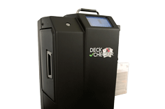 Card shredder for casinos