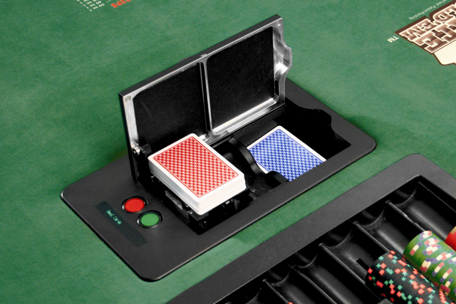 Deck Mate Shuffle Machine For Poker Room