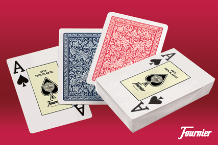 Quality playing cards, Fournier for casino poker